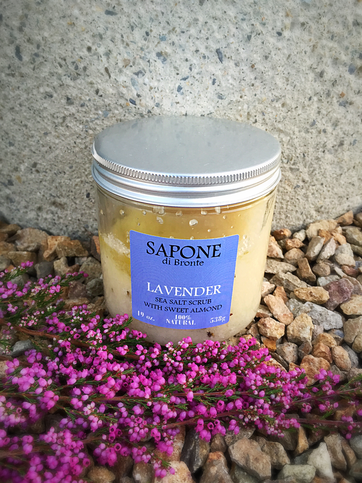 Lavender Sea Salt w/ Sweet Almond Body Scrub